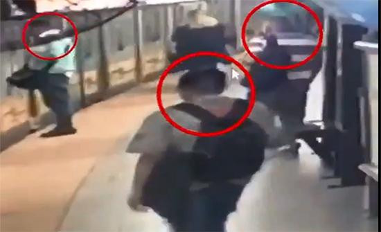 شاهد :  نشّالو مترو بوينس آيرس الثلاثة في قبضة الأمن