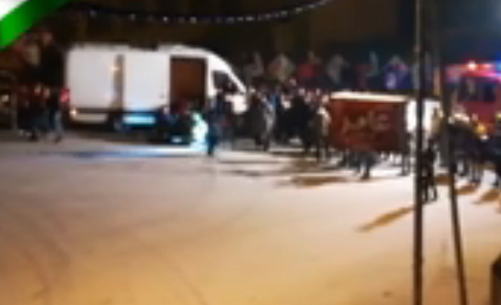 فيديو  : حقيبة مشبوهة في جرش والأمن يستنفر