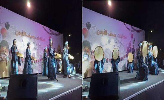 """عرض مسرحية """" ديرو بالكو على حالكو """" ضمن فعاليات صيف الأردن بالزرقاء"""