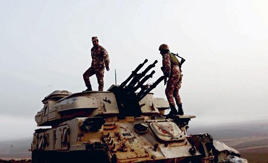 المنطقة العسكرية الشرقية تحبط محاولة تسلل وتهريب