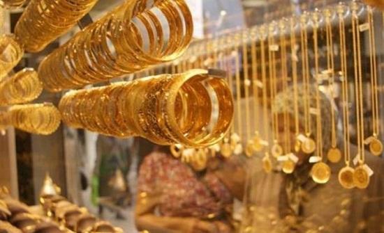 5ر34 سعر غرام الذهب بالسوق المحلية