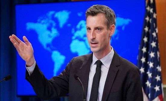 واشنطن: العقوبات على إيران لن ترفع إلا بالتفاوض الدبلوماسي