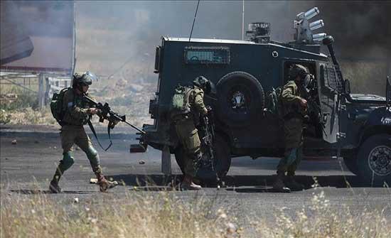 إصابة 25 فلسطينيا برصاص الجيش الإسرائيلي في الضفة