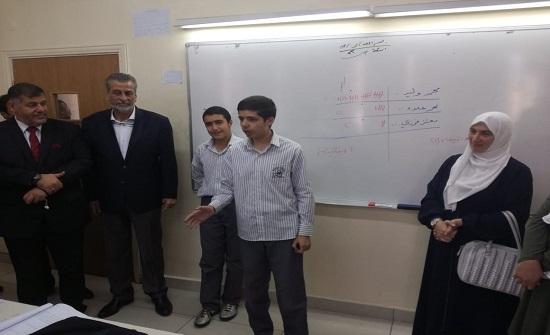 طهبوب تشارك طلبة المدارس العمرية الخاصة انتخابات البرلمان الطلابي