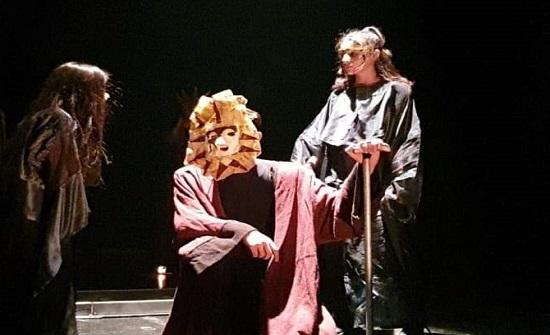 عرض مسرحية لا تصالح للمخرج حرب في مسرح الشمس