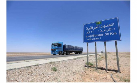 """العراق يستأنف العمل بـ""""الترانزيت"""" إلى الأردن"""