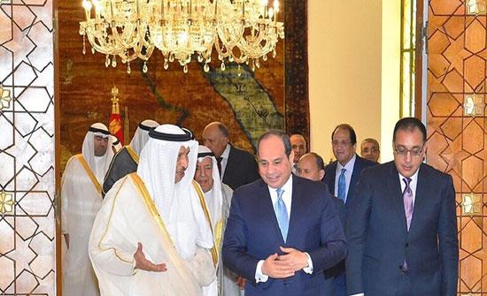 مصر والكويت توقعان اتفاقية لضخ مليار دولار في سيناء