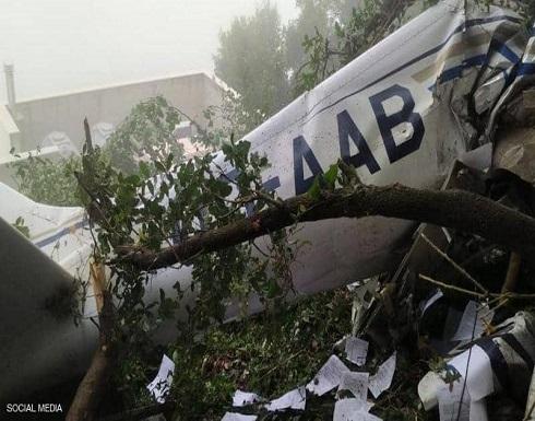لبنان.. مقتل 3 أشخاص في تحطم طائرة تدريب