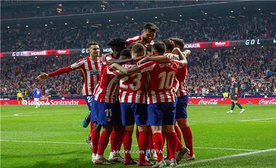 بالصور: أتلتيكو مدريد يستعيد ذاكرة الانتصارات في الليجا