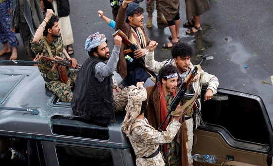 السفارة اليمنية في عمان تدعو لاتخاذ موقف حازم إزاء جرائم ميليشيا الحوثي
