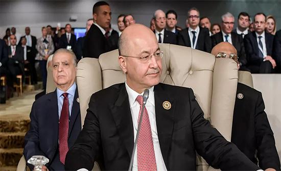 الرئيس العراقي يدعو لتجنيب بلاده الوصاية والتدخل الخارجي