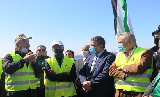 وزيرا الزراعة والبيئة يطلقان مشروع التحريج الوطني في عجلون