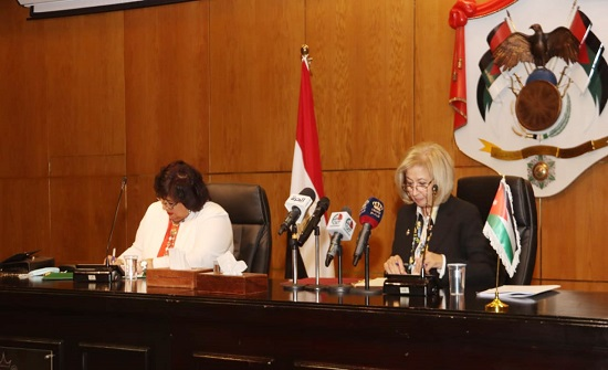 توقيع البرنامج التنفيذي للتعاون الثقافي بين الأردن ومصر