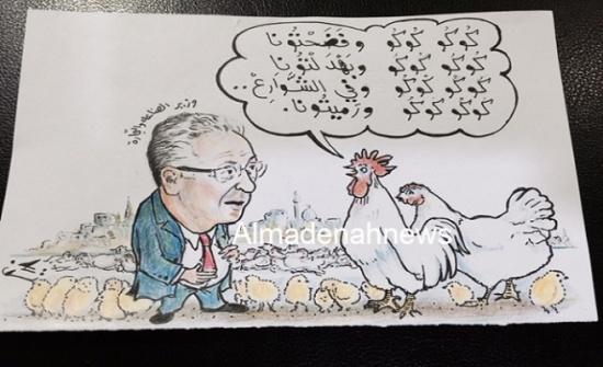 يعرب القضاة والدجاج الميت في مادبا ..