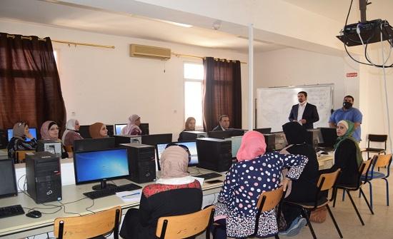 جامعة إربد الأهلية تعقد دورة تدريبية لعدد من الموظفين الإداريين