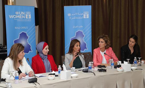 غنيمات تؤكد أهميّة التعاون بين الأردن والعراق لتفعيل القرار الأممي حول المرأة والأمن والسلام