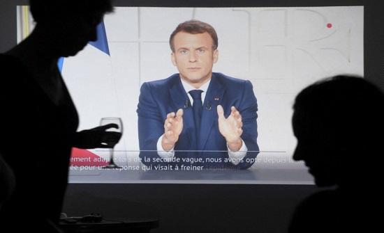 «إغلاق المدارس وتعميم القيود».. ماكرون يعلن الحجر الشامل في فرنسا بدء من السبت