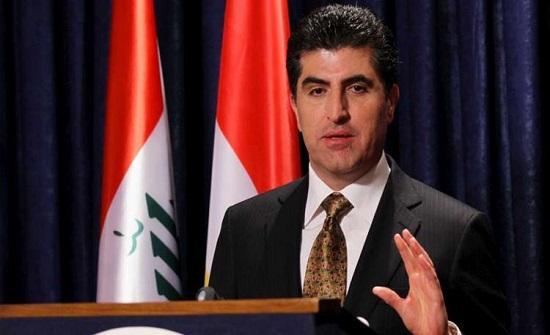 رئيس إقليم كردستان العراق يصل إلى عمان