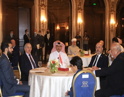 السفير العراقي يقيم حفل تأبين للراحل احمد راضي