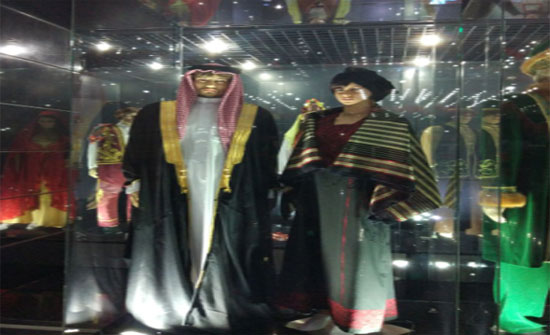 """الزي الشعبي الاردني ضمن معرض """"أزياء الشعوب"""" في كازاخستان"""