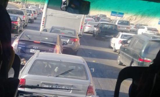 ازمة خانقة في عمان  .. صور