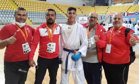 ميدالية ذهبية للأردن في بطولة الدوري العالمي للكراتيه