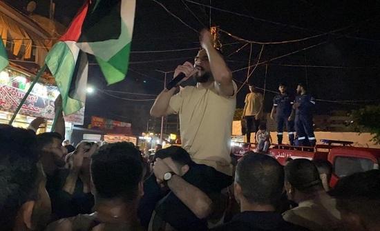 مسيرات بالمخيمات الفلسطينية في لبنان نصرة للأقصى (شاهد)