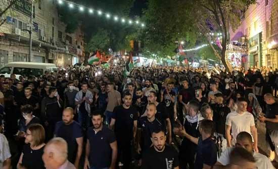 46 معتقلا على الأقل خلال مظاهرات حاشدة في البلدات العربيّة دعمًا للقدس .. بالفيديو