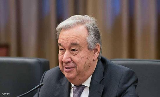 الأمين العام للأمم المتحدة يحّذر من الخطر الوشيك لحدوث مجاعة في اليمن