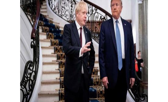 ترمب: احتمال التوصل سريعاً لاتفاق تجارة مع بريطانيا
