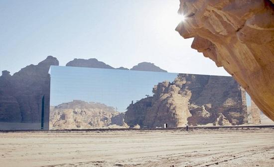 السعودية تدخل موسوعة جينيس بأكبر مبنى مغطى بالمرايا في العالم