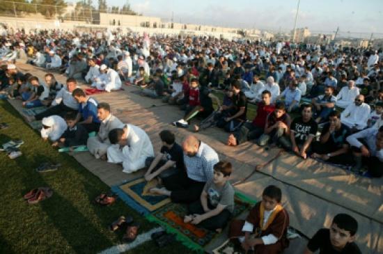 24 مصلى لأداء صلاة عيد الفطر في الرصيفة