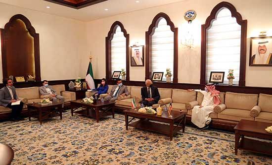 نقيب المهندسين يلتقي السفير الكويتي ويبحث توفير فرص عمل للمهندسين
