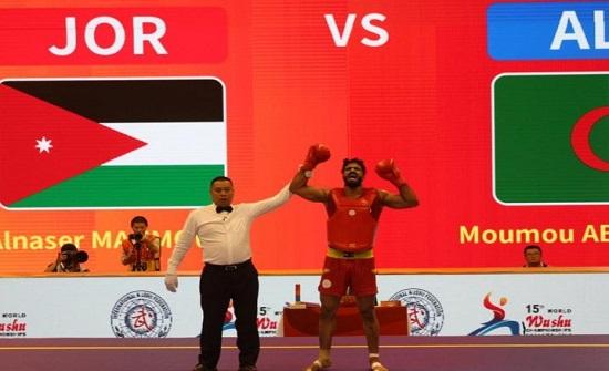 ميداليتان برونزيتان لمنتخب الووشو كونغ فو في بطولة العالم