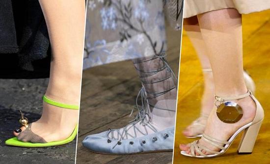 صيحات أحذية من أسبوع الموضة في لندن لموسم ربيع 2020