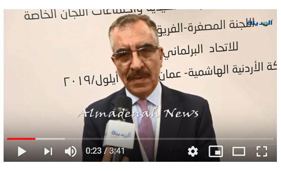 بالفيديو.. فايز الشوابكة للمدينة :  قوى كبرى تحاول فرض هيمنتها على المنطقة