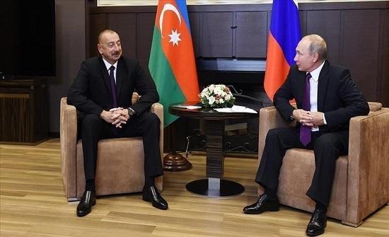 "لقاء مرتقب بين بوتين وعلييف لبحث ملف ""قره باغ"""