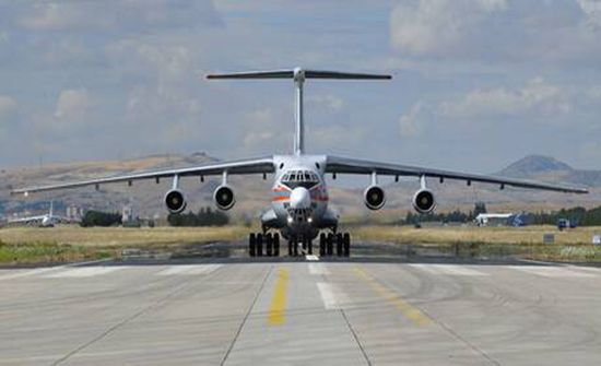مقتل 4 أشخاص في هبوط اضطراري لطائرة شحن مدنية غرب أوكرانيا