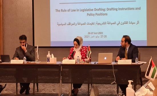 التشريع والرأي يختتم تدريبات مشتركة حول الصياغة القانونية