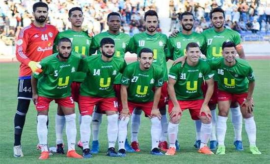 الوحدات يفوز على سحاب ويقترب من لقب الدوري