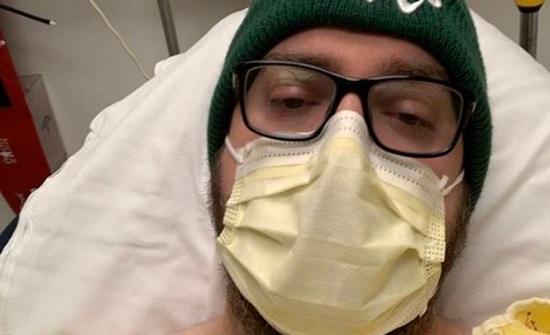 مصاب بكورونا أجنبي يوثق ألمه على تويتر: انهرت ودموعي تفيض