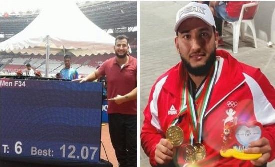 أحمد هندي يحرز ذهبية في بطولة العالم البارالمبية ويتأهل للاولمبياد