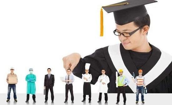 جلسة توعوية حول التعليم المهني في لواء القصر