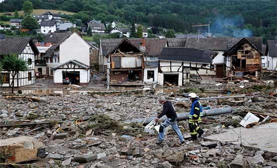 الفيضانات تغرق أوروبا.. أكثر من 150 قتيلا ومخاوف من ارتفاع حصيلة الضحايا