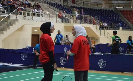 4 ميداليات ذهبية لمنتخب الريشة بالبطولة العربية