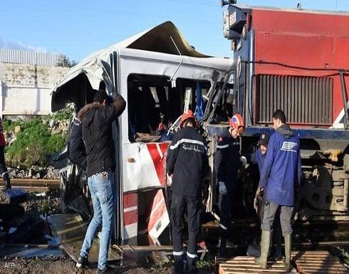 إصابة العشرات في اصطدام قطارين جنوبي تونس