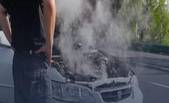 ادارة السير : تعطل 100 مركبة بسبب إرتفاع درجات الحرارة في عمان
