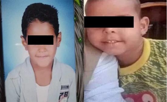 مارس الخطيئة مع الاول وقتل الثاني .. تفاصيل جريمة ذبح طفلين في مصر .. صور