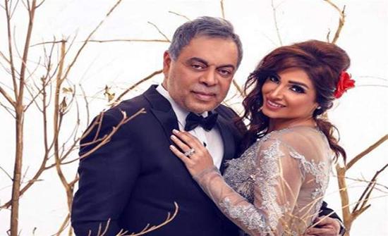 بالصورة : روجينا تشيد بمواقف وشهامة زوجها أشرف زكي