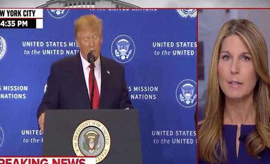 محطة تلفزيون أمريكية توقف بث كلمة لترامب وتقول: نعتذر لكم ولكن الرئيس يكذب- (فيديو)
